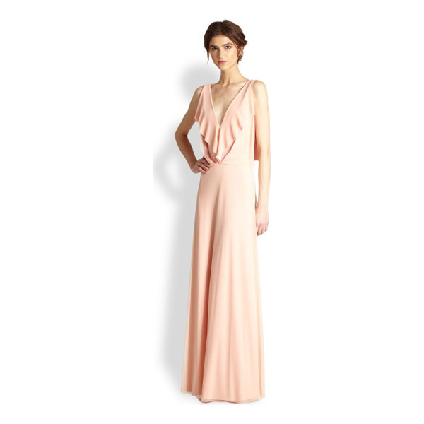 ALON LIVNE Butterfly draped jersey gown - EXCLUSIVELY AT SAKS.COM This graceful evening gown is...