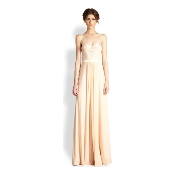 ALON LIVNE Tanya tulle bustier gown - This romantic, enchanting tulle gown is tailored with a...