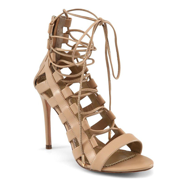AQUAZZURA amazon leather lace-up sandals - Whether paired with boyfriend jeans or a lightweight dress,