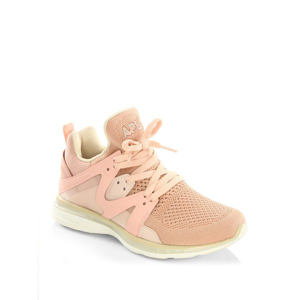 APL: ATHLETIC PROPULSION LABS ascend floral running sneakers - Femme floral-print sneaker with innovative ankle cut....