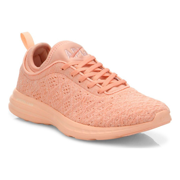 APL: ATHLETIC PROPULSION LABS techloom phantom sneakers - Innovative sneakers with multi-level woven upper. Polyester...