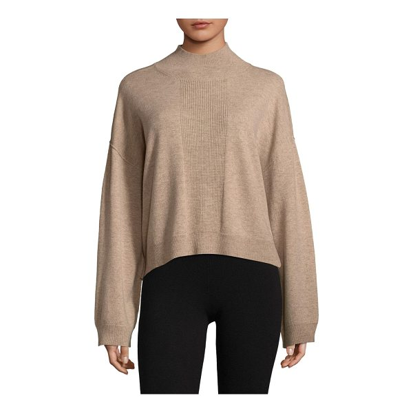 ATM ANTHONY THOMAS MELILLO ribbed sweater - Soft sweater in luxe wool-blend fabric. Mockneck. Long...