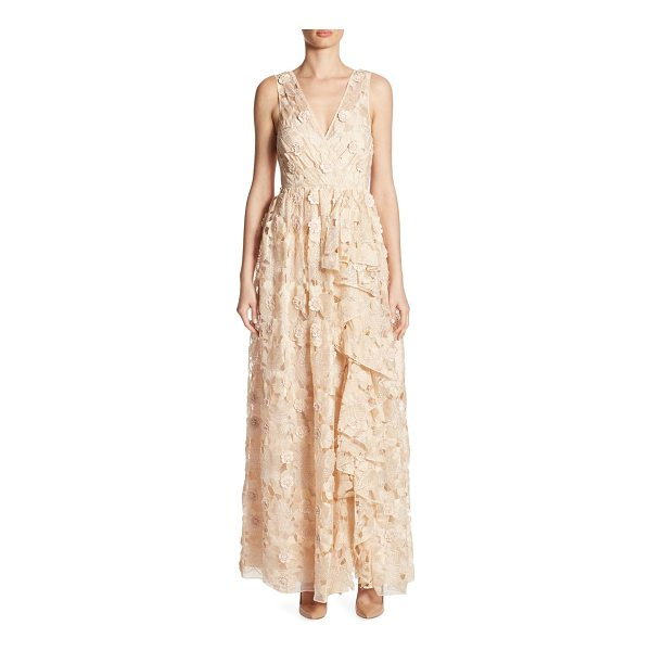 BADGLEY MISCHKA cutout floral dress - On-trend dress in cutout and floral details. Surplice...