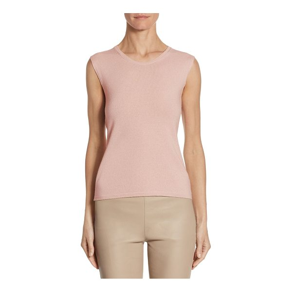 BARBARA LOHMANN one cashmere tank top - A soft cashmere tank top for a casual and comfortable...