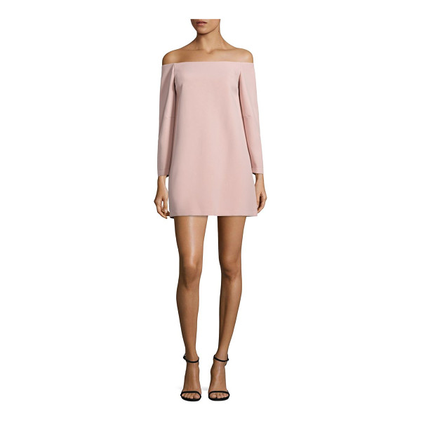 BCBGMAXAZRIA yesenia off-the-shoulder dress - Designed with a must-have off-the-shoulder neckline, this...