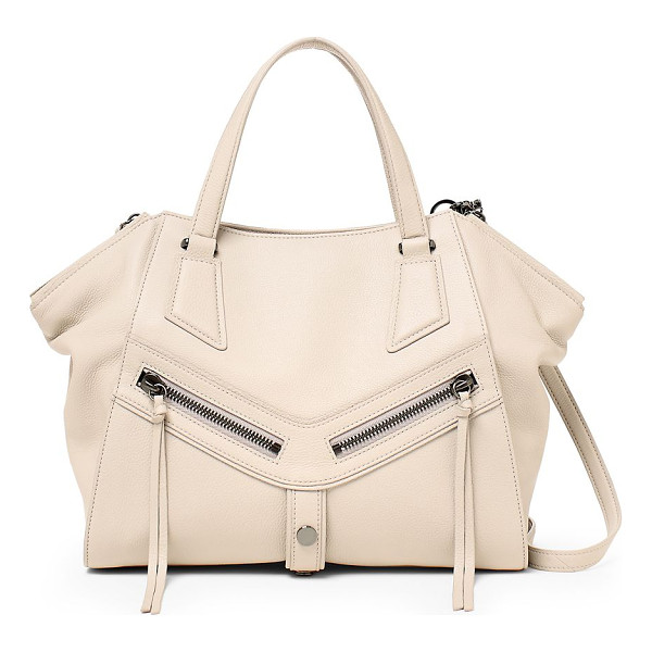BOTKIER NEW YORK trigger angled leather satchel - Functional and elegant satchel tailored from rich leather.