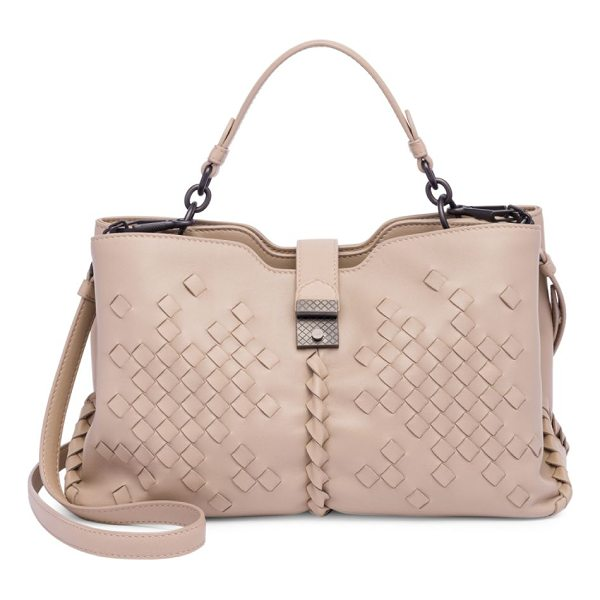 BOTTEGA VENETA textured tote - Trend-savvy tote boasts enough space for daily needs. Top...