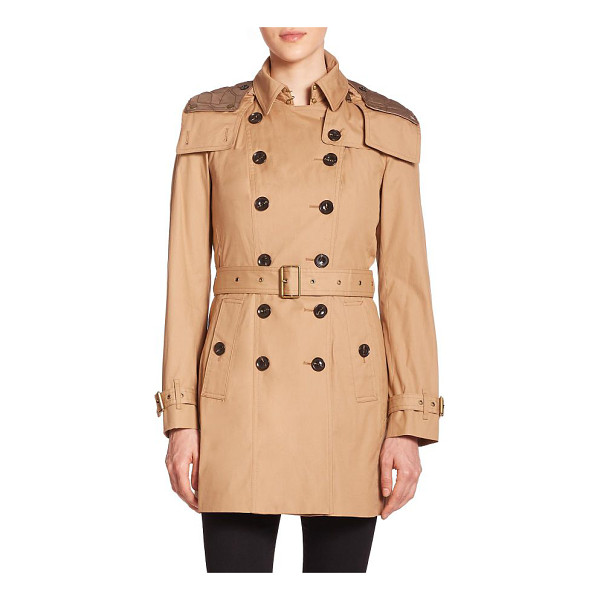 BURBERRY BRIT reymoore trench coat - A signature Burberry Brit trench, replete with sartorial...