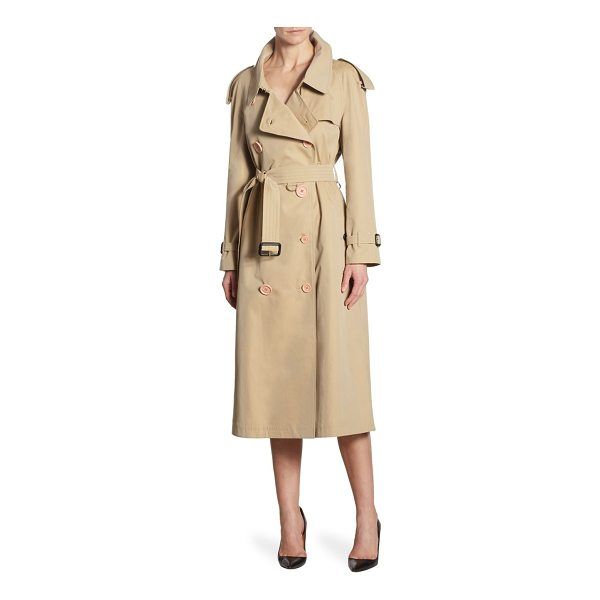 BURBERRY oversized trench coat - Classic trench coat in classic double-breasted design....
