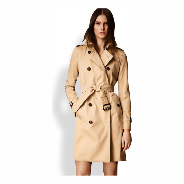 BURBERRY LONDON kensington long heritage trench coat - Cut from fine cotton gabardine and lined the house's...