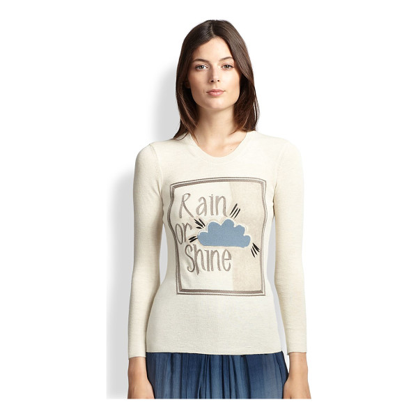 BURBERRY PRORSUM Rain or shine sweater - A touch of cashmere lends luxurious softness to this...