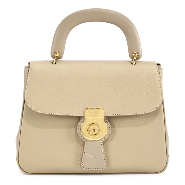 BURBERRY the medium dk88 top handle bag - Timeless silhouette rendered in exclusive new Trench...