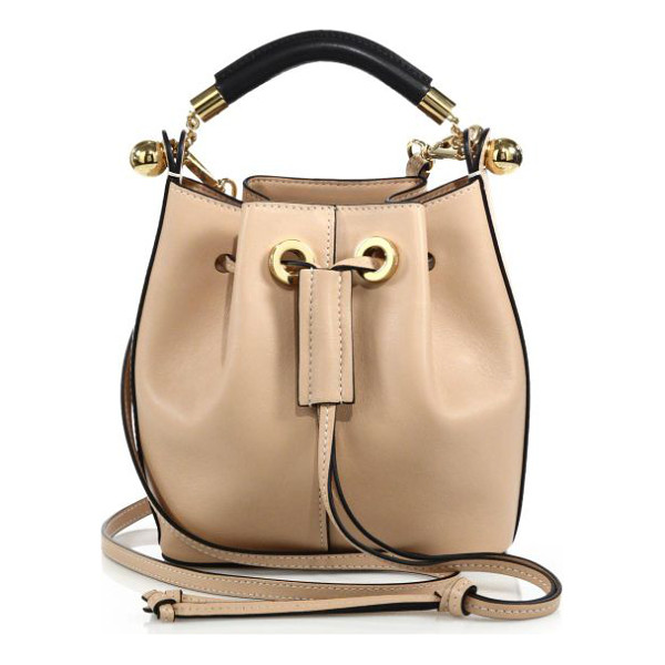 CHLOE Gala small leather bucket bag - The impeccable craftsmanship of the Chloé brand reflects...