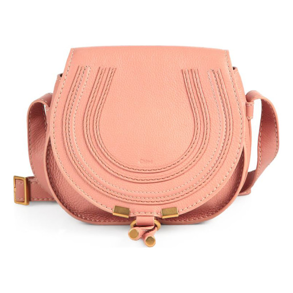 CHLOE Marcie small crossbody bag - Rich leather defines this rounded crossbody silhouette,...