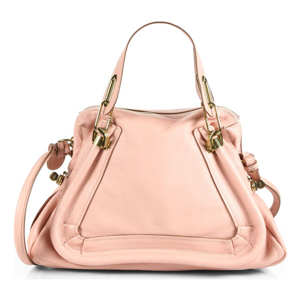 CHLOE Paraty medium tote - Luxurious calfskin leather with double top handles and...