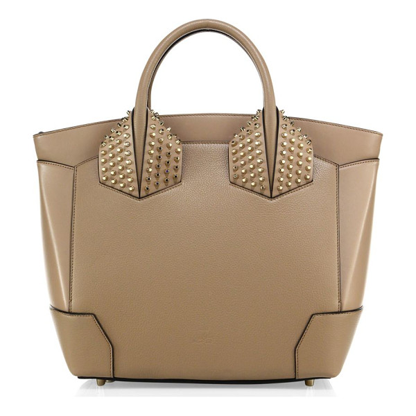CHRISTIAN LOUBOUTIN eloise large studded leather tote - Structured leather tote with signature spiked studs. Double...