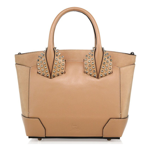 CHRISTIAN LOUBOUTIN eloise small studded leather tote - Structured leather tote with signature spiked studs. Double...