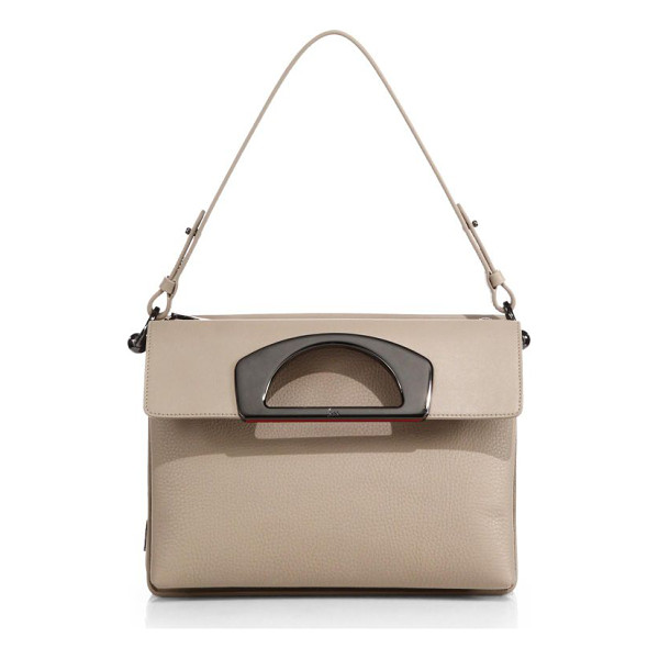 CHRISTIAN LOUBOUTIN Passage ranch paris shoulder bag - Leather shoulder style features many convenient pockets for...