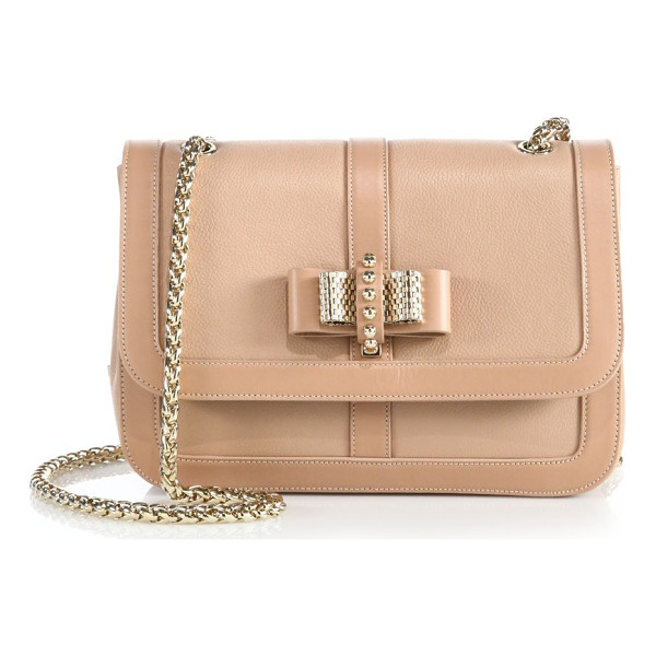 CHRISTIAN LOUBOUTIN Sweet charity small shoulder bag - A petite version of the sweet, signature design in...