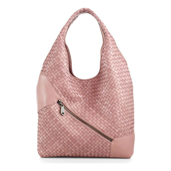 CHRISTOPHER KON Weekend woven leather hobo - An elongated hobo shape, soft and slouchy, in rich...