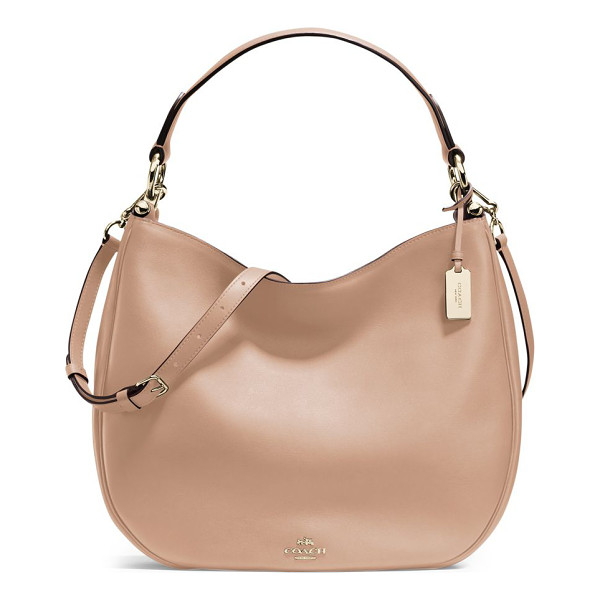 COACH nomad leather hobo bag - A timeless signature style, with a roomy silhouette. Top