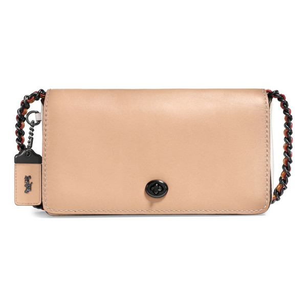 COACH leather crossbody bag - Structured crossbody bag in glovetanned leather. Removable...