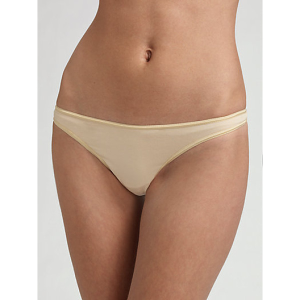 COSABELLA talco low-rise thong - Superb smoothness under anything, in soft viscose. Cotton...