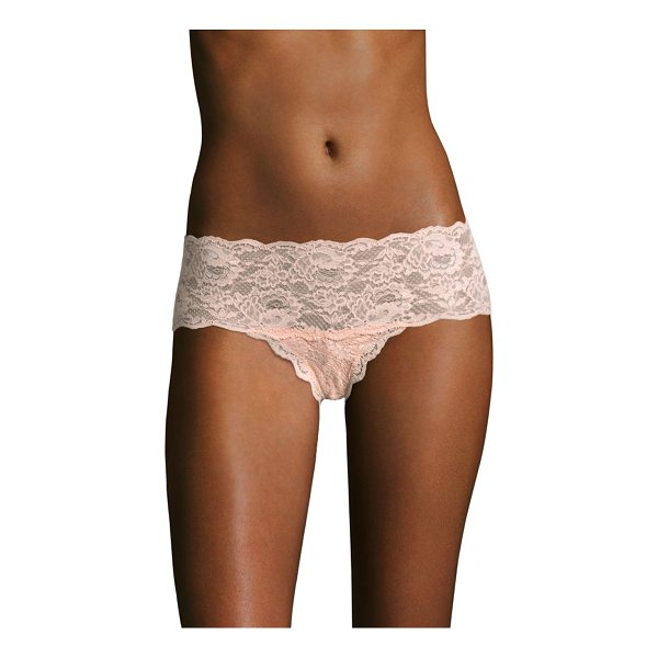COSABELLA never say never hottie hotpants - Sexy seam-free lace fits the curves. Scallop edges. Cotton...