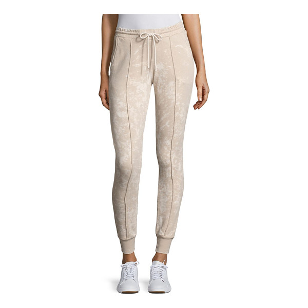 COTTON CITIZEN milan jogger pants - On-trend joggers crafted with front seam detailing....