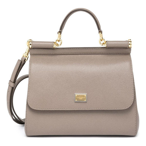 DOLCE & GABBANA miss sicily large top-handle satchel - Simple yet sophisticated, this top-handle Miss Sicily is...