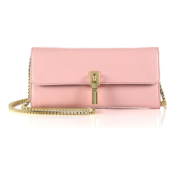 ELIZABETH AND JAMES Cynnie chain wallet - Sleek and structured in smooth leather, this chain wallet...