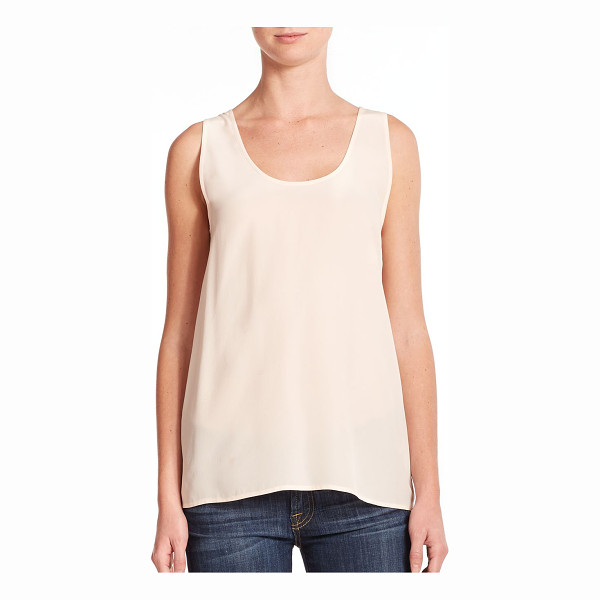EQUIPMENT Kaylen silk tank top - Designed in sumptuous silk, the classic tank instantly...