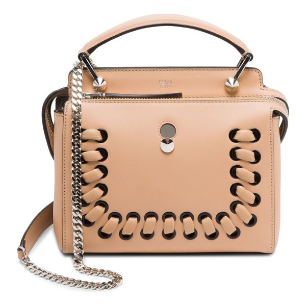 FENDI baltico shoulder bag - Shoulder bag featuring lace-up detail in front. Top carry...