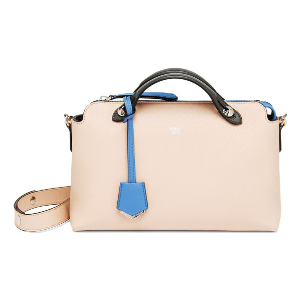FENDI by the way small multicolor satchel - Multicolor trimmings lend a subtle visual pop to this...