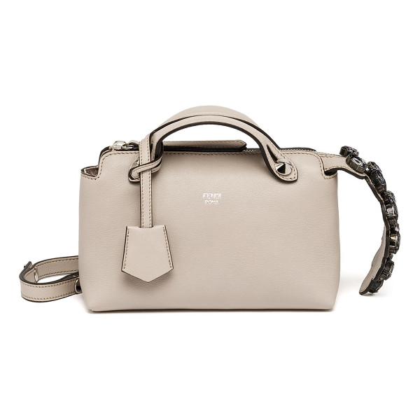 FENDI By the way small satchel - Crafted of smooth, buttery leather, this signature Fendi...