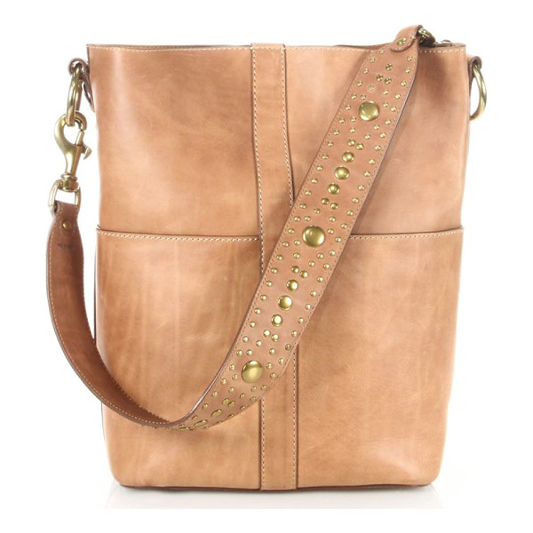 FRYE ilana studded leather hobo bag - EXCLUSIVELY AT SAKS FIFTH AVENUE. Tall leather hobo bag...