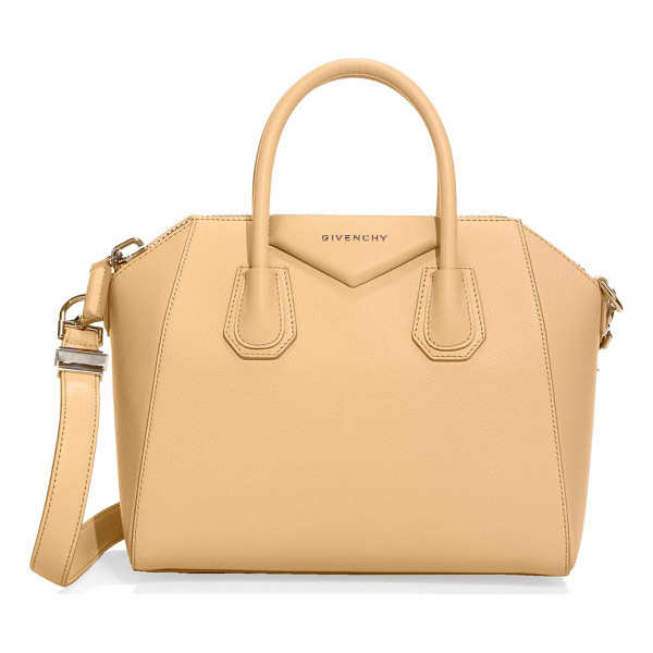 GIVENCHY antigona medium leather satchel - An iconic silhouette crafted in luxe grained leather....