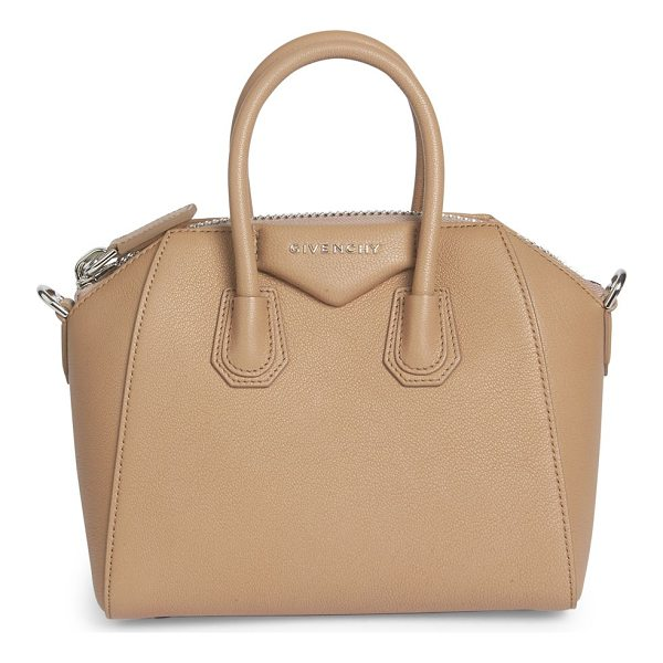 GIVENCHY antigona small leather satchel - Petite, iconic crossbody in rich, buttery leather. Double...