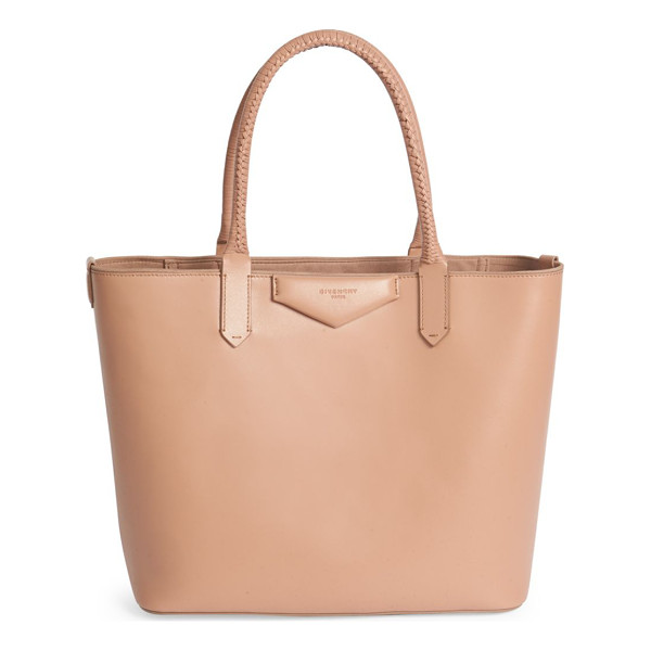 GIVENCHY Antigona small leather tote - Braided handles finish petite tote bag in rich calf...