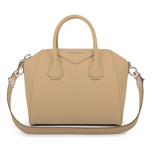 GIVENCHY Antigona small leather satchel - Sophisticated satchel crafted of sugar leather, which...