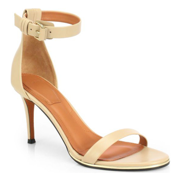 GIVENCHY Leather ankle-strap sandals - This season's most elegant ankle-strap silhouette,...
