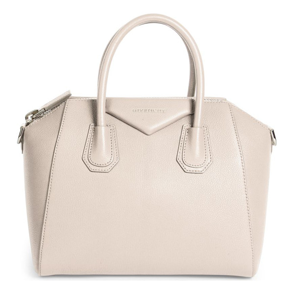 GIVENCHY medium antigona leather satchel - An iconic silhouette crafted in luxe grained leather.