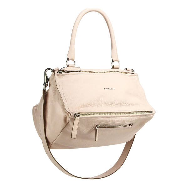 GIVENCHY pandora medium leather shoulder bag - Beautifully unique design with signature detail, crafted of...