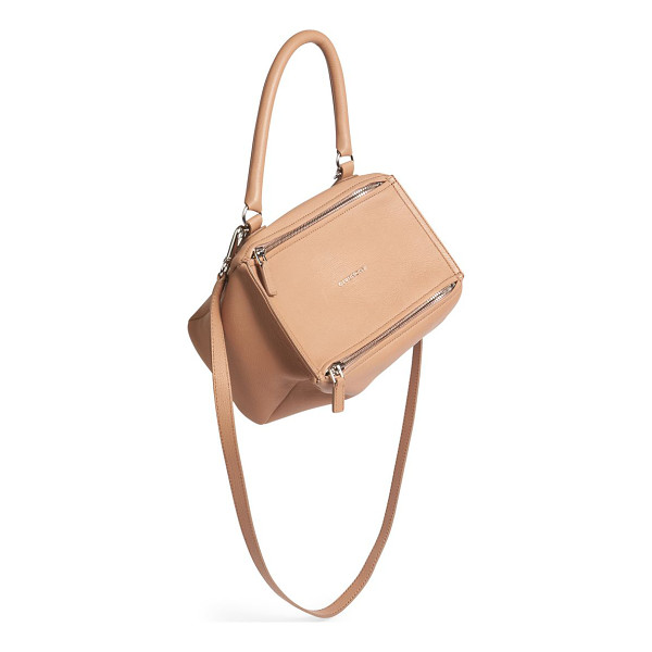 GIVENCHY Pandora small leather crossbody bag - Signature boxy silhouette shaped in rich leather. Top...