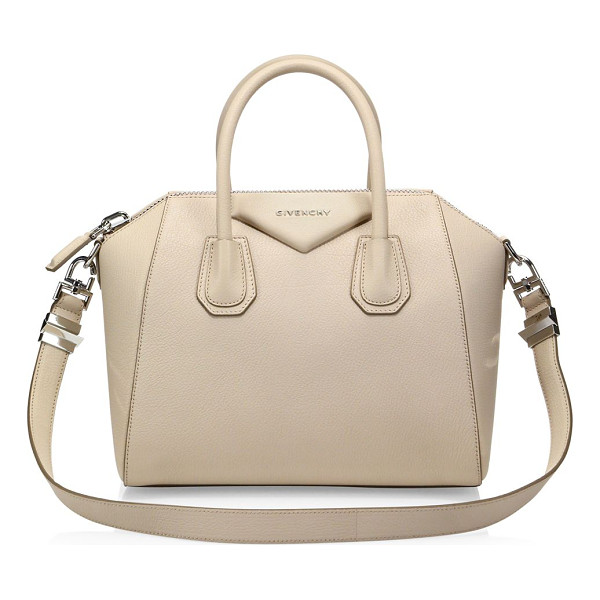 GIVENCHY antigona small leather satchel - Petite, iconic crossbody in rich, buttery leather. Double