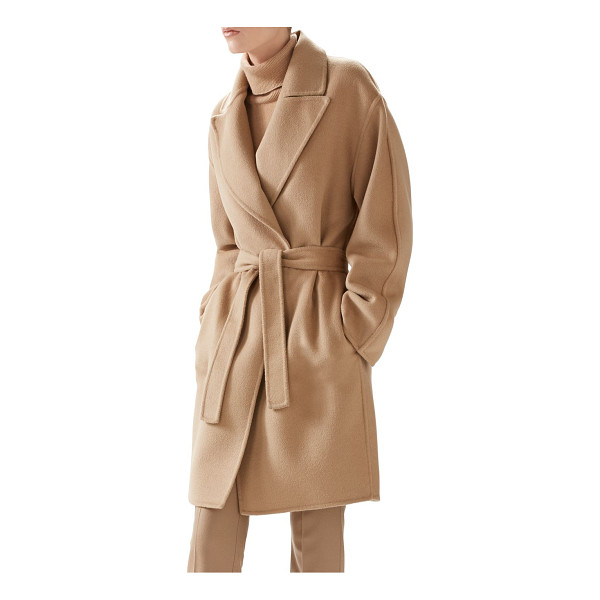 GUCCI Double-wool wrap coat - Gucci's very soft double wool coat, composed of wool and...