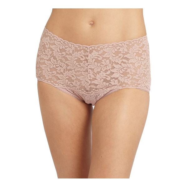 HANKY PANKY Retro bikini - Skin-baring lace with a generous band that hugs the...