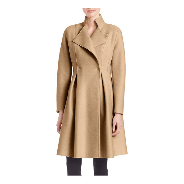 HARRIS WHARF LONDON woolen long coat - Embrace posh glamor with this rich Italian wool coat....