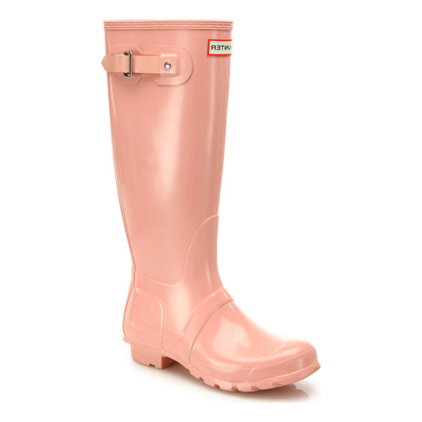 HUNTER original gloss rainboots - Stay dry on rainy days with these original gloss rainboots...