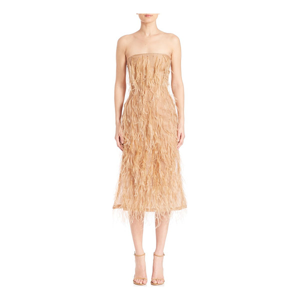 JASON WU fringed silk dress - Beautiful dress with allover fringed detailing. Straight...